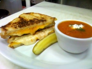 Grilled Cheese (pictured with tomato soup)